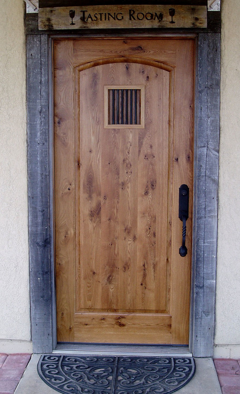 Eastern White Oak Custom Door
